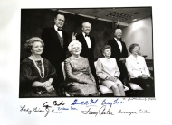 David Hume Kennerly, Presidents and Wives with Autographs