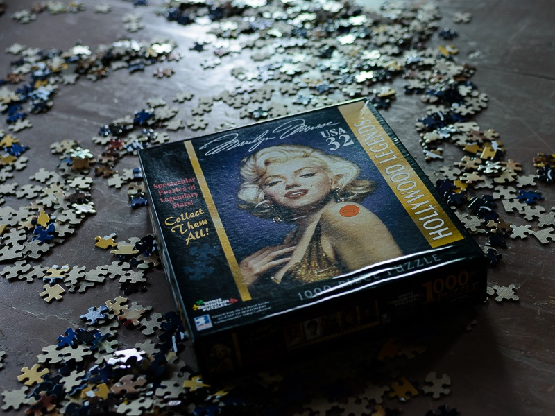 Norm Diamond, Marilyn Puzzle