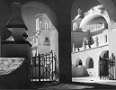Ansel Adams, Arches, North Court, Mission San Xavier del Bac